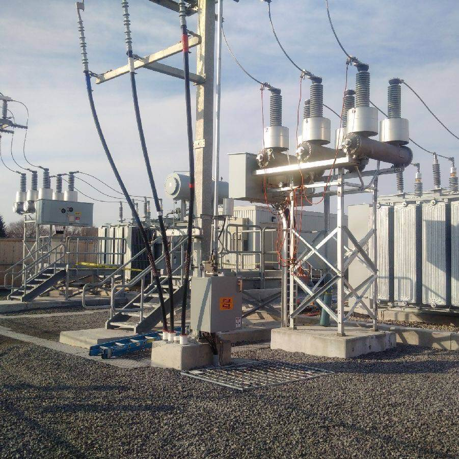 Substations k line group of companies for Substation design