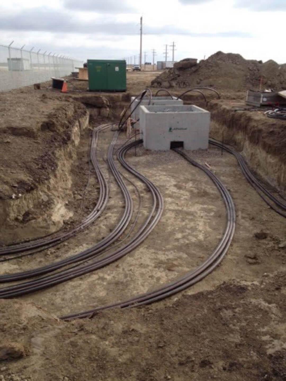 Underground piping