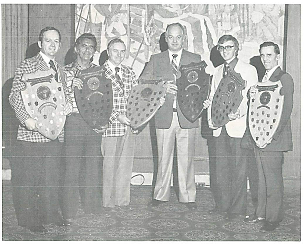 E. Glenn Kellett pictured accepting Low Accident Frequency Award Winner in 1967.