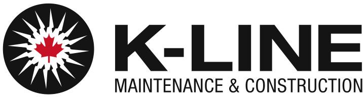 K-Line Maintenance and Construction Logo