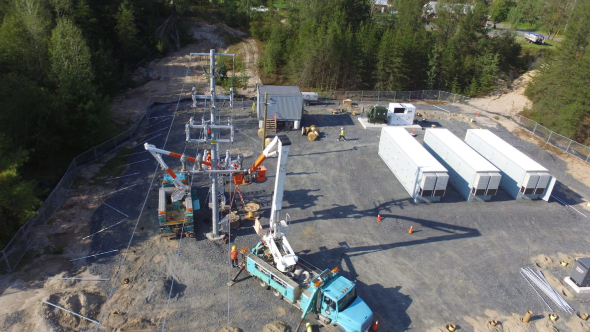 Parry Sound Battery Storage Facility