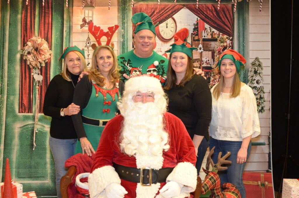 K-Line Team with Santa